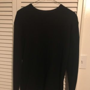 Andew Long Sleeve Tee in Black